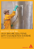 Leak sealing solutions with Sika Injection Systems